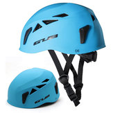 GUB D6 Climbing Caving ABS Helmet with Headlamp Buckle Ultralight Protective Helmet Adjustable Size