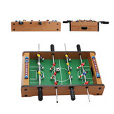 34.5x21.5x8cm Football Table Game Wooden Soccer Game Tabletop Foosball Sports Family Activities