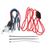12V Electric Horn Relay Wiring Harness Kit For Car Truck Grille Mount Blast Tone Horns