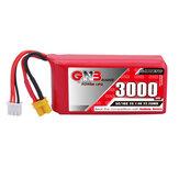 Gaoneng GNB 7.4V 3000mAh 5C 2S Lipo Batterie XT30 Prise pour Jumper T16/T18 Émetteur RADIOMASTER TX16S