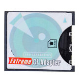 EP-025 Memory Card Adapter Converter for SD Card MMC to CF I CF II Card