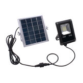 Solar Powered 10W 20LED SMD5730 Impermeable IP65 Remote + Timer + Light Control Flood Light