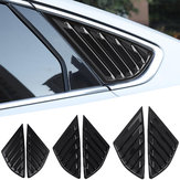 Car Rear Quarter Panel Side Vent Window Louvers Cover for Ford Fusion Mondeo 4 Door