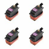 4X MG996R Metal Gear رقمي High Torque Servo 55g