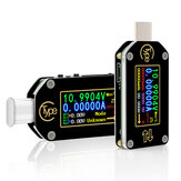 RIDEN® TC66 / TC66C Type-C PD Trigger USB Voltage Ammeter سعة Meter 2 Way Measurement شاحن البطارية التطبيق الكمبيوتر USB Tester