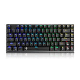 E-element Z88 81 Key NKRO USB Wired RGB Backlit Mechanical Gaming Keyboard Outemu Blue Switch