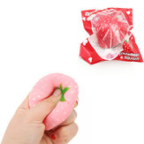 Squishyfun Strawberry Squishy Slow Rising 8 CM Squeeze Toy Original Packaging Collection Gift