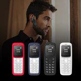 L8StarBM300,66calaOLED220 mAh Dialer Bluetooth Zmieniacz głosu Odtwarzacz muzyczny MP3 Mini telefon