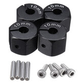 4PCS 10mm Thickness 12mm Widen Metal Adapter for 1/10 SCX10 CC01 WRAITH 90027 90034 Rc Car Parts