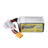 TATTU R-LINE Version 1.0 22.2V 1050mAh 95C 6S Prise Lipo Batterie XT60 pour RC Racing Drone