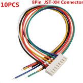 Excellway® 7S1P 10PCS 8Pin 7S Chargeur d'équilibrage de câble de borne mâle / femelle