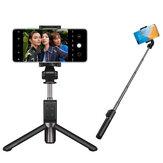 Original Huawei CF15 Pro bluetooth Selfie Varanda Tripé portátil de controle sem fio Monopé de mão para telefone iOS Huawei