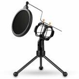 Yanmai PS-3 Mikrofon Stand Holder Tripod Mikrofon Mikrofon Filtreli Aksesuarlar