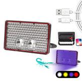 E-SMARTER W861 / W862 / W863 6 trybów 2000 lm 4-źródło światła LED + UV Camping światło robocze wędkarstwo wodoodporny reflektor