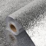Adesivo de gordura de cozinha, papel de parede autoadesivo para gabinete de folha de alumínio à prova de óleo