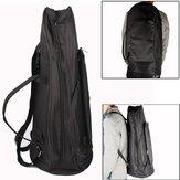 ユーフォニアムオックスフォード布保護バッグストラップ付きブラック