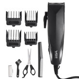 Mens Electric Cabelo Clipper Barba Trimmer Shaver Nose Cabelocut Grooming w / 4 Limit Pentes