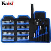 KAISI 126 in 1 cacciavite Set Precision cacciavite Tool Kit Punte Torx Phillips magnetiche per telefoni Laptop Watch