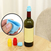 Vin Rouge Cover Tutup Botol Silicone Stopper Minuman untuk Home Bar Stopper Cover Barware Aksesoris