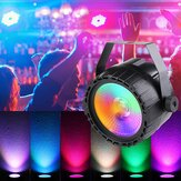 30W RGB + UV COB LED RGB Stage ضوء DMX التحكم عن بعد DJ Bar Disco KTV Party Christmas