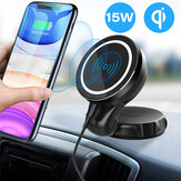 Bakeey 15W Car Magnetic Wireless Charger Magsafe Fast Charging Mobile Phone Holder For iPhone 12 Pro Max Mini
