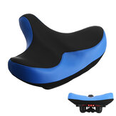 30x28x12cm Extra Wide Bike Saddle Soft Almofada de bicicleta Comfort com luz LED