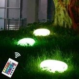 Dış Mekan Solar Powered LED Taş Bahçe Işıklar Çimen Su Geçirmez Dekoratif Çakıllar