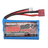 Remo 7.4V 1500mAh Lipo Li-ion Battery For 1631 1/16 RC Car T Plug