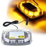 12V-24V30LEDMiniBursztynMigające światło awaryjne Bar Strobe Rotary Beacon Lampka ostrzegawcza