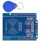 3шт NFC Shield RFID RC522 Модуль RF IC Card Датчик + S50 Смарт-карта RFID для UNO/Mega2560 OPEN-SMART для Arduino - продукты, которые работают с официальной платой Arduino