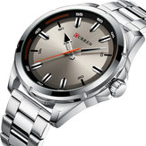 CURREN 8320 Business Style Stainless Steel Men Wrist Watch