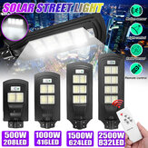 208/416/624/832 LED Solar Street Light PIR Motion Sensor Garden Lamp W/ Remote