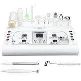 8 em 1 massageador antienvelhecimento facial elétrico do ultrassom