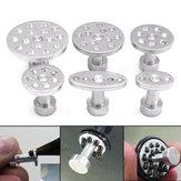 6pcs pdr de alumínio puxando alça puxador paintless dent granizo fivela ferramentas de reparação de carro