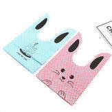 50Pcs/Lot Cute Rabbit Design Creative Sugar Dessert Bags Baking Self-adhesive Plastic Packing Bag