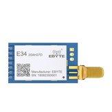 Ebyte®E34-2G4H27DnRF24L01P2.4GHz5km 27dBm 500mWDIPオートホッピングワイヤレストランシーバーUARTモジュール