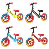 12-дюймовый детский безпедальный балансировочный велосипед с шиной EVA для малышей, толкающий велосипед, обучающий велосипед для детей от 2 д