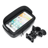 4.7inch Waterproof Mobile Phone Holder Motorcycle Bicycle Mount Case Bag Pouch