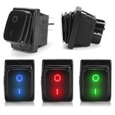 On-Off 4 Pin 12V LED LED Light Rocker Toggle Switch Latching Waterproof