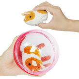 Electric Running Hamster Rolling Ball  Funny Little Plush Animal Compression Stuffed Toy 13*9.5*13cm