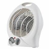 Household Portable Desktop Fan Heater Upright Home Oscillating Electric Heater 2000W 220V-240V EU Plug