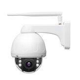 Bosesh SD19SO Biały / czarny 5MP 2MP Wifi Dome Kamera IP Wirowanie Wodoodporny Bezprzewodowy IR Noc Wi-Fi CCTV Mikrofon Głośnik Audio Dysk Karta SD