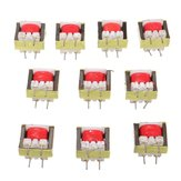 10pcs 1300: 8 Ohm Audio Transformer EE14 Transformateur Audio POS Transformador