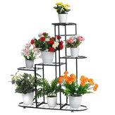 Утюг Многослойный Растение Stand Holder Стеллаж для цветочных горшков Внутренний На открытом воздухе Растение Дисплей Стеллаж для балкона гост