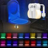 3 in 1 Toilette UV Nachtlicht 16 Farben austauschbar LED UV Toilettenschüssel LED Luminaria Lampe Bewegungssensor Nachtlicht Aromalampe für Badezimmer