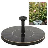 مصغرة الشمسية القوة نافورة المياه حديقة بركة بركة في الهواء الطلق لوحة للطاقة الشمسية الطيور حمام نافورة المياه العائمة نافورة مضخة حديقة