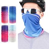 Atmungsaktive Eisseide Staubdichte Gesichtsschalabdeckung Maske Sun UV Schutzhalsmanschette Winddichtes Stirnband zum Angeln Motorradfahren Laufen