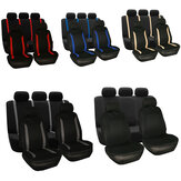 Universal  Car Two Five Seat Covers Set Full Car Seat Cushion  Dust Protector