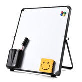 White Wipe Board Single Sided Portable Small Whiteboard Planner Reminder With Stand School Home Office Kids List Board Supplies