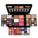 74 Color Eye Shadow Set Lip Gloss Blush Base de maquillaje